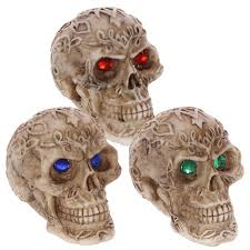 Celtic Skull - mini celtic skull gem 5 5 cm high set of 3 or single skull