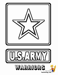 u s army coloring page free download