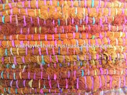 Sari Silk Rugs by Recycled Sari Silk Ribbon Coral Shaded Rugs Buy Coral Silk