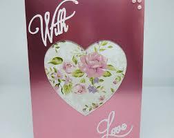 wedding anniversary pinkfountain handmade greeting cards