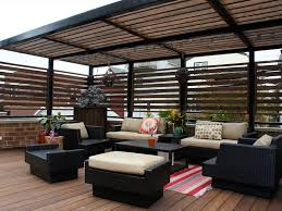 Deck With Pergola by Just Decks Inc Ipe Garage Roof Deck With Steel Pergola For