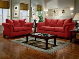 Red And Black Sofa by Red Accent Living Room Ideas Green Candles Brown Chairs Brown Fur