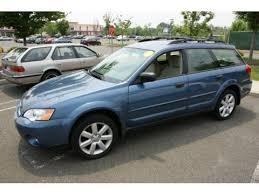 blue subaru outback 2007 used 2007 subaru outback 2 5i wagon for sale stock 7011