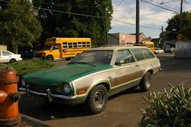 1973 Pinto Station Wagon Old Parked Cars 1972 Ford Pinto Squire