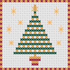 cross stitch christmas cards four quick christmas designs from