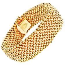 gold mesh bracelet images Unoaerre italian gold mesh bracelet at 1stdibs jpg