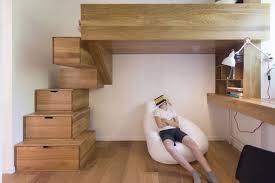 mezzanine chambre enfant aménagement intérieur chambre enfant design original lits