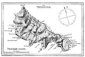 Map Of Trinidad Halley U0027s Hoggs Halley U0027s Log