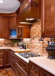 brick backsplash kitchen brick kitchen backsplash ideas 130 best ideas primitive country