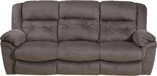Fabric Sofas And Couches Interior Impressive Spartan Reclining Sofa With Drop Down Table