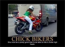 Funny Biker Memes - chick bikers fathead