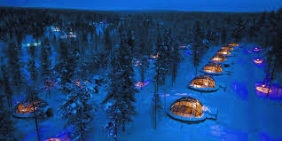 where to stay to see the northern lights see the northern lights in this finnish glass igloo business insider