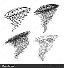 drawn tornado sketch pencil and in color drawn tornado sketch