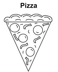 healthy food coloring pages preschool coloring pages food coloring pages pizza of for kids healthy