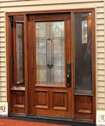 French Doors With Opening Sidelights by Venting Sidelights Door With Screen Entrance Door Pinterest