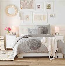 White And Light Grey Bedroom Light And Bright Bedroom Ideas Grey Nutral White Feminine