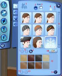 the sims 3 hairstyles and their expansion pack the sims 3 create a sim tutorials hair