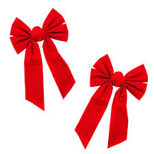christmas wrapping bow velvet 6 loop bow for wreath decorations gifts