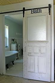 bathroom door ideas barn door for bathroom installing interior hardware can transform