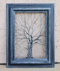 yessy giacomelli nature original wire tree wall