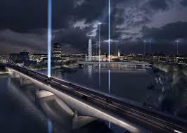 top architecture firms battle for london u0027s illuminated river
