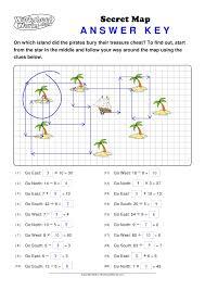 worksheet works secret map 1