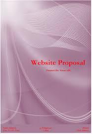 website proposal template microsoft word templates