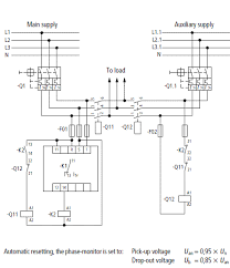 wiring diagram 3 phase automatic transfer switch wiring diagram