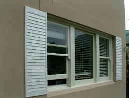 exterior decorative shutters home design plan