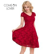 valentines dress i1048 comeonlover floral lace skater dresses day gift