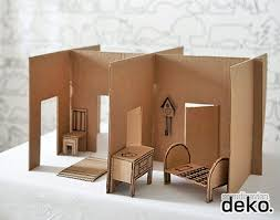 How To Make A Cardboard Chair 6 Ways To Make A Cardboard Dollhouse Handmade Charlotte