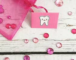 goody bands for teeth tooth fairy envelope etsy