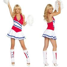 Cheerleader Halloween Costumes Adults Compare Prices Cheerleader Adults Shopping