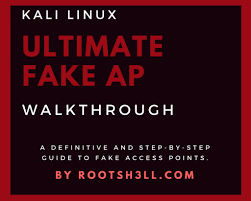 Red Flag Linux The Ultimate Fake Access Point Walkthrough Rootsh3ll