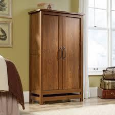 Sauder Furniture Armoire Sauder Beginnings Wardrobe Storage Cabinet Highland Oak Walmart Com