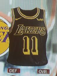 look nba 2k18 leaks alternate lakers jersey lonzo ball will wear