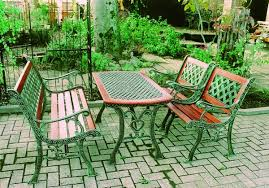 cast iron outdoor table select tool shop rakuten global market cast iron table set of cast