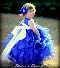 royal blue baby flower dresses amore wedding dresses