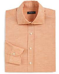 men u0027s orange dress shirts by charvet men u0027s fashion