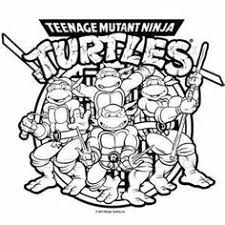 teenage mutant ninja turtles coloring pages bing images