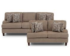 Sofa Mart Green Bay Sectionals Glasgow 3 Pc Sectional Casual Style With Comfort