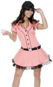 Halloween Baseball Costumes Dreamgirl Playing Field Baseball Costume Romper
