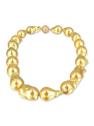 yellow gold bracelet with pearls images Polynesia collection gold 15 20mm giant baroque pearl necklace jpg
