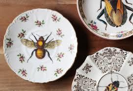 diy upcycled vintage plates