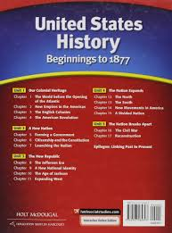 united states history student edition beginnings to 1877 2012