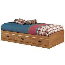 How To Build A Platform Bed With Drawers by Single Bed Amazon Com