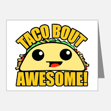 taco thank you cards taco note cards cafepress