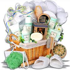 spa gift basket spa pictures