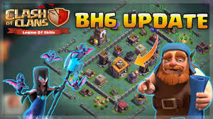 clash of clans builders hall 6 update 2017 bh6 youtube