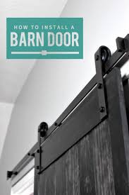best 25 sliding door hardware ideas on pinterest sliding barn how to install a barn door